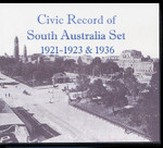 Civic Record of South Australia Set 1921 and 1936