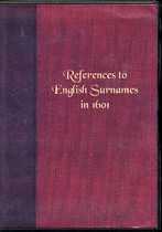References to English Surnames in 1601