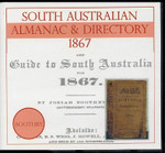 South Australian Almanac and Directory 1867 (Boothby)