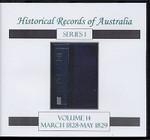 Historical Records of Australia Series 1 Volume 14