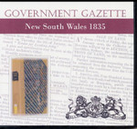 New South Wales Government Gazette 1835