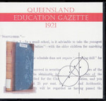 Queensland Education Gazette 1921