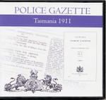 Tasmania Police Gazette 1911