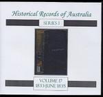 Historical Records of Australia Series 1 Volume 17