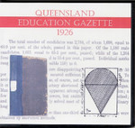 Queensland Education Gazette 1926