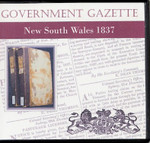 New South Wales Government Gazette 1837