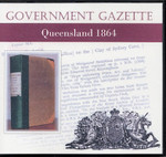 Queensland Government Gazette 1864