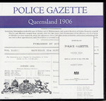 Queensland Police Gazette 1906