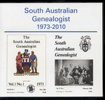 South Australian Genealogist 1973-2010