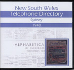 New South Wales Telephone Directory 1940: Sydney