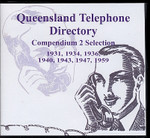 Queensland Telephone Directory Compendium 2 Selection 1931-1959