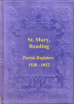 Berkshire Parish Registers: Reading, St Mary's 1538-1812
