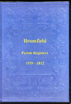 Shropshire Parish Registers: Bromfield 1559-1812