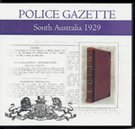 South Australian Police Gazette 1929