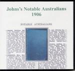 Johns's Notable Australians 1906