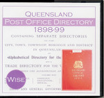 Queensland Post Office Directory 1898-99 (Wise)