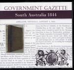 South Australian Government Gazette 1844
