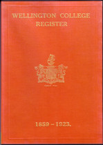 Wellington College Register, Berkshire 1859-1923