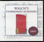 Walch's Tasmanian Almanac 1900