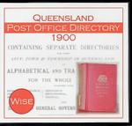 Queensland Post Office Directory 1900 (Wise)