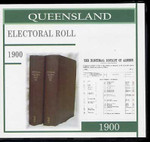 Queensland State Electoral Roll 1900