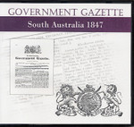 South Australian Government Gazette 1847