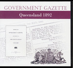 Queensland Government Gazette 1892
