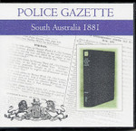 South Australian Police Gazette 1881