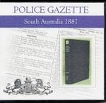South Australian Police Gazette 1881