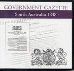 South Australian Government Gazette 1848
