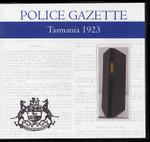 Tasmania Police Gazette 1923