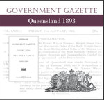 Queensland Government Gazette 1893