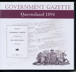 Queensland Government Gazette 1894