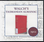 Walch's Tasmanian Almanac 1902