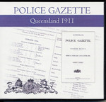Queensland Police Gazette 1911