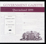 Queensland Government Gazette 1899