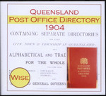 Queensland Post Office Directory 1904 (Wise)