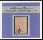 Gippsland Directory 1884-1885 (Middleton and Maning)