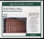 Queensland State Electoral Roll 1915