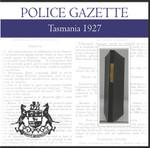 Tasmania Police Gazette 1927