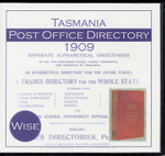 Tasmania Post Office Directory 1909 (Wise)