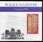 Victoria Police Gazette 1900