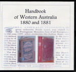 Handbook of Western Australia 1880 and 1881 Set