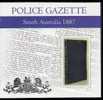 South Australian Police Gazette 1887