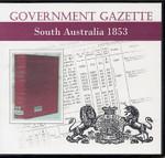 South Australian Government Gazette 1853
