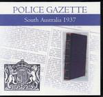 South Australian Police Gazette 1937