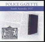South Australian Police Gazette 1937