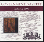 Victorian Government Gazette 1890