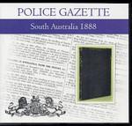 South Australian Police Gazette 1888