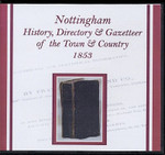 Nottingham 1853 White's History, Directory and Gazetteer of the Town and County
